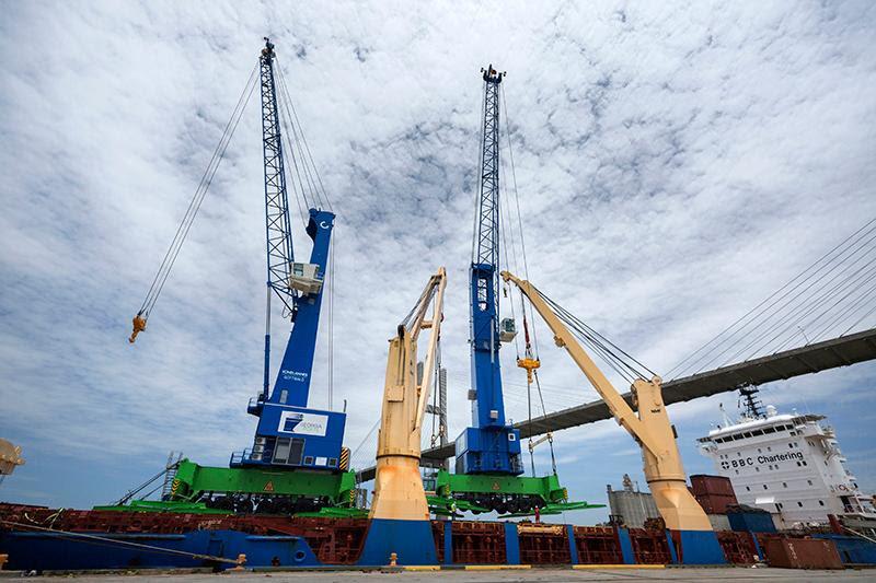 GPA's Port of Savannah New Mobile Cranes