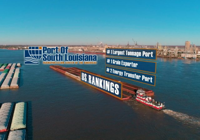 Port of South Louisiana Launches New Promotional Video