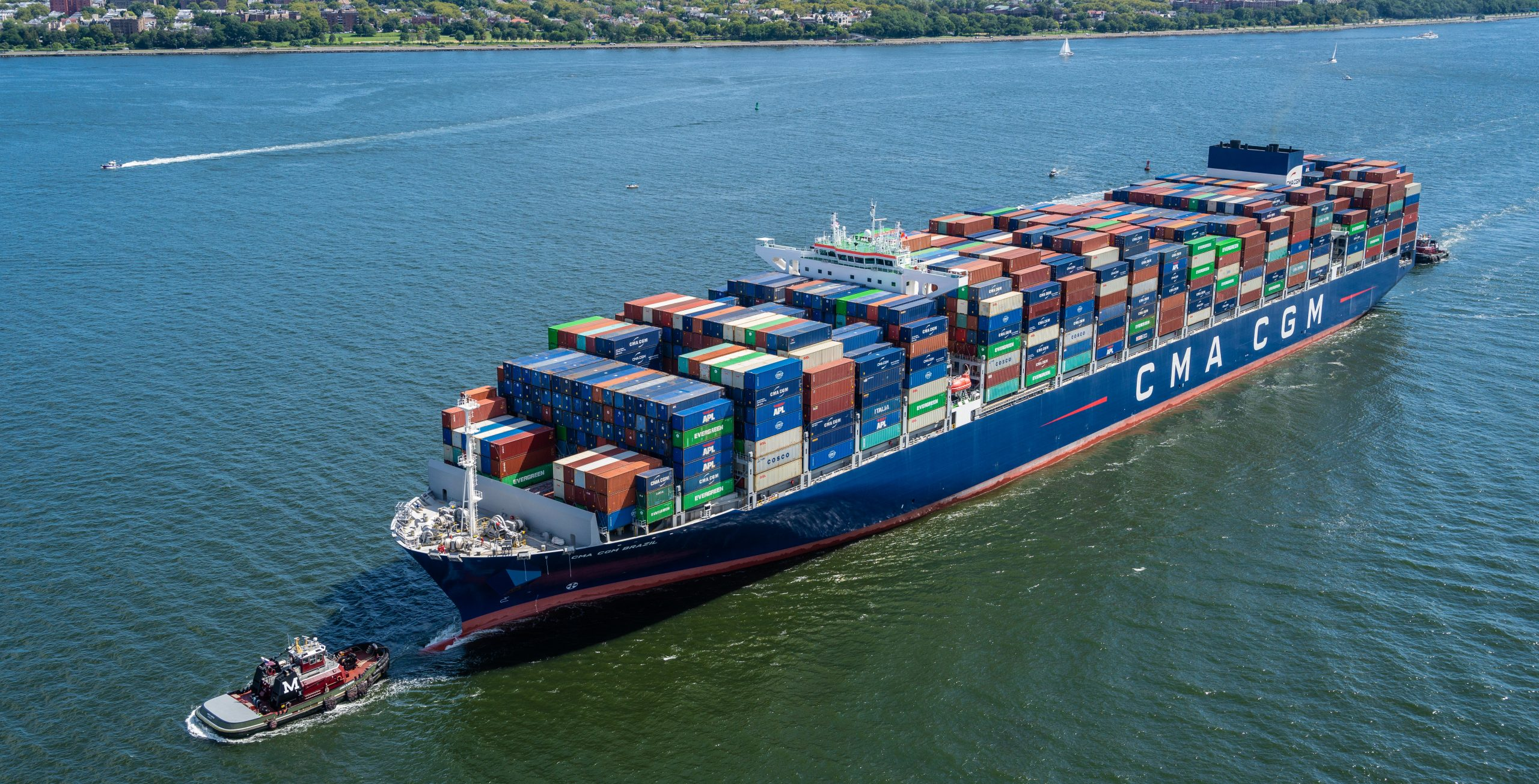 Savannah serves largest vessel ever, the 15,000+ TEU Brazil