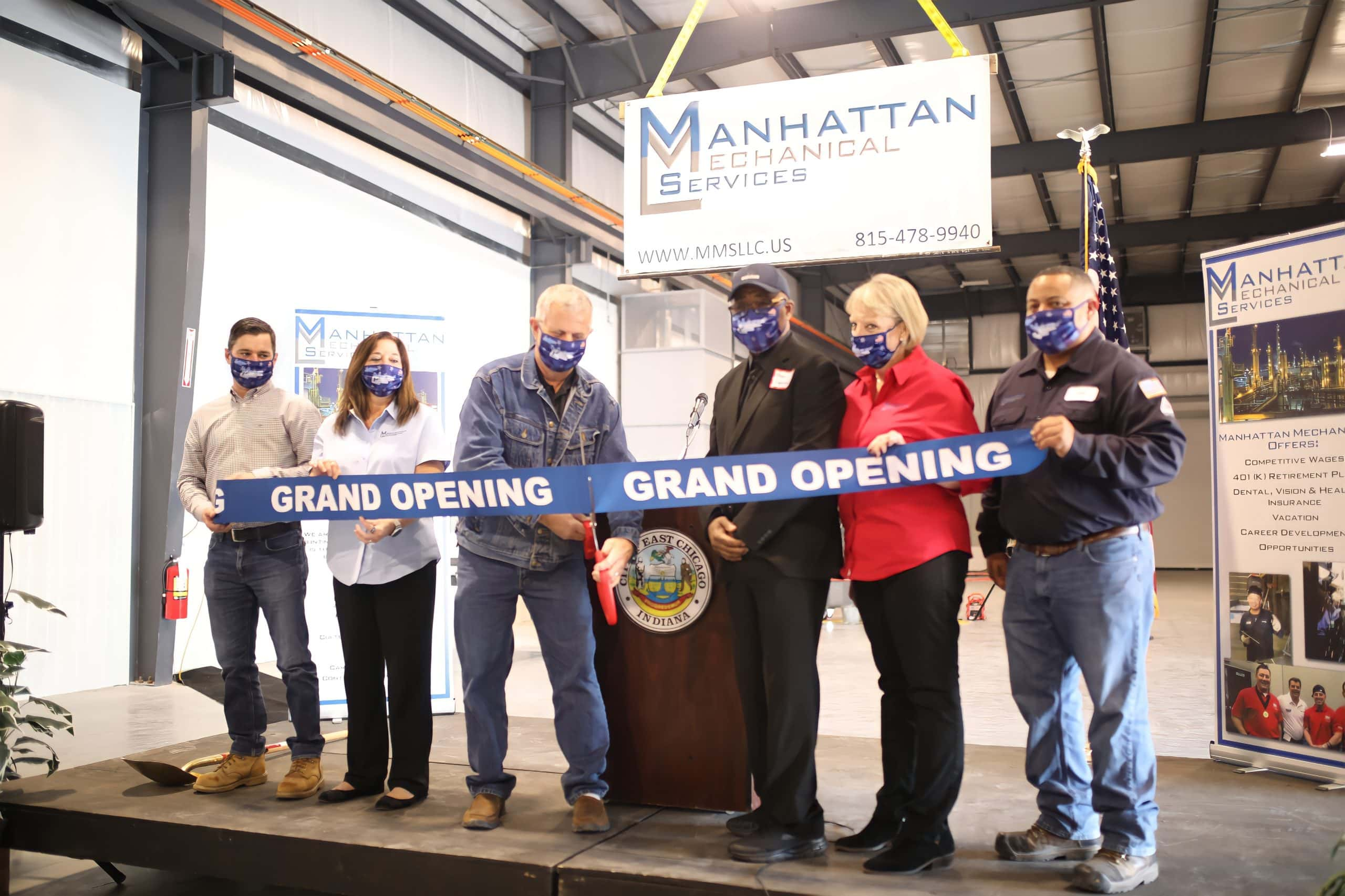 Manhattan Mechanical Services announces new East Chicago Indiana facility