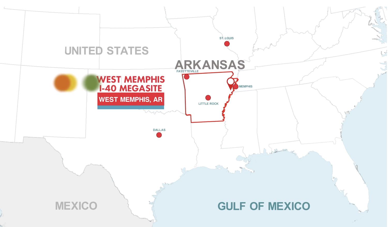 West Memphis, Entergy Arkansas Launch I-40 Megasite Marketing Campaign