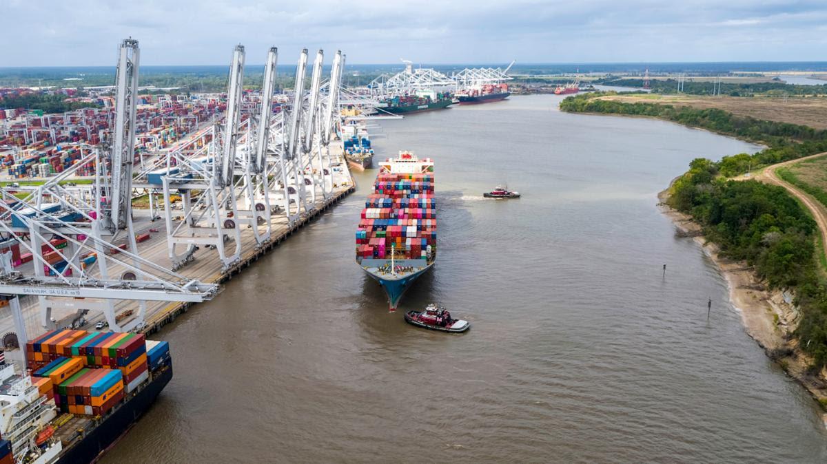 Georgia exports hold steady